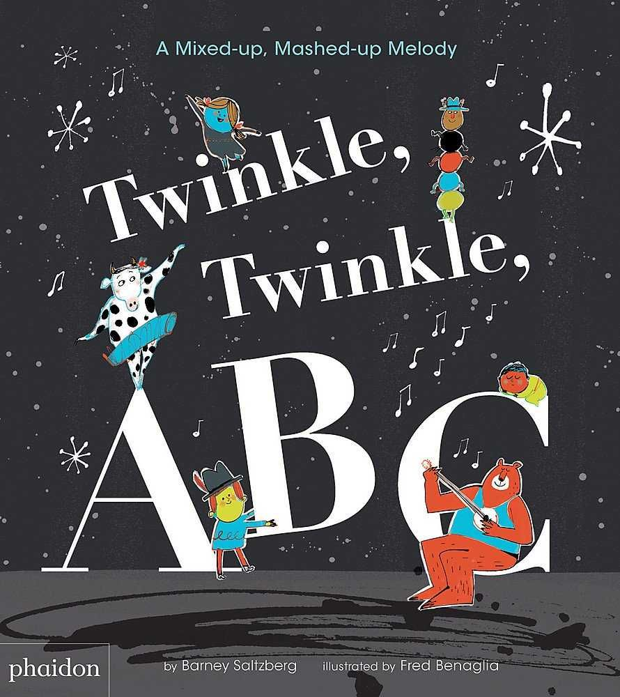 TWINKLE TWINKLE ABC A MIXED-UP MASHED-UP MELODY