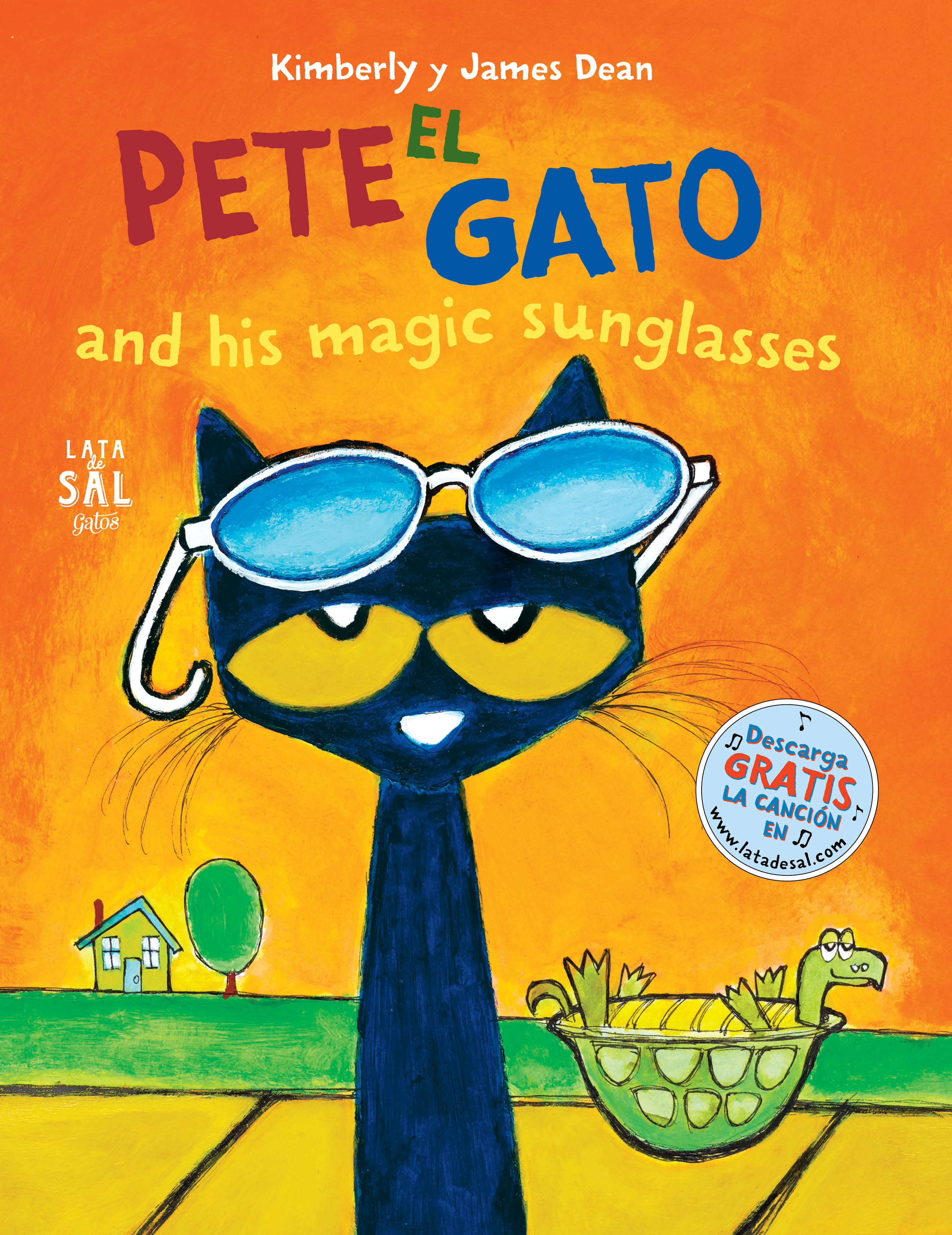 PETE EL GATO AND HIS MAGIC SUNGLASSES.